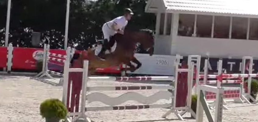Marc Bettinger Vierter im Gold-Springen beim CSI2* in Oliva/Valencia