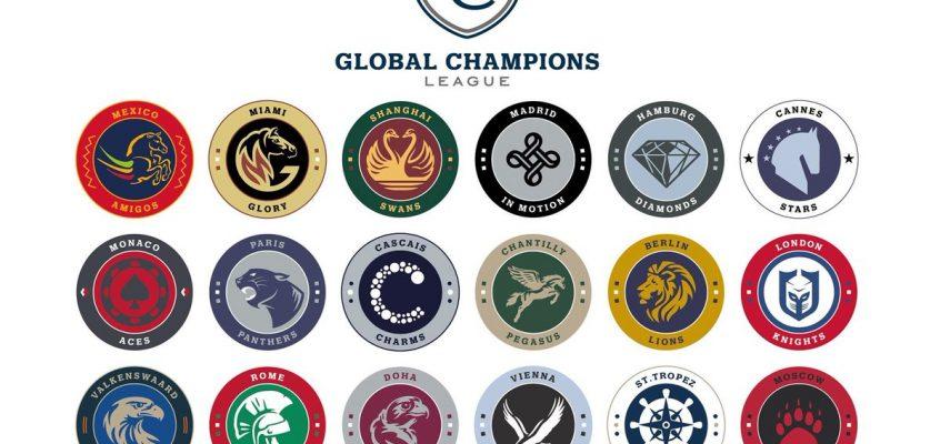 Die 18 Teams für die Global Champions League 2017 sind komplett