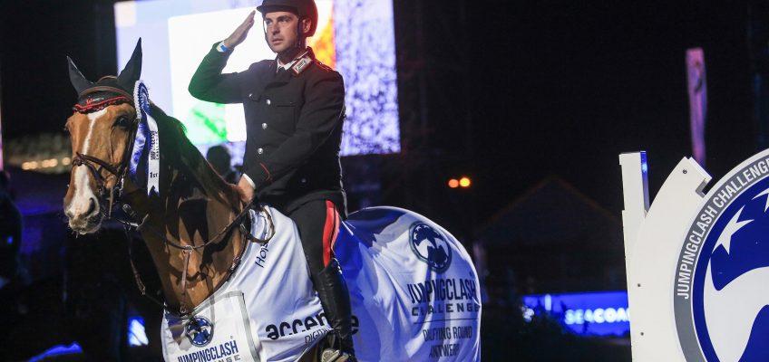 Emanuele Gaudiano gewinnt Eröffnungsspringen in Antwerpen!