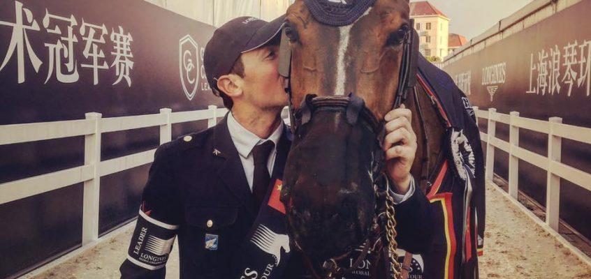 Lorenzo de Luca holt sich Grand Prix der Longines Global Champions Tour in Shanghai!