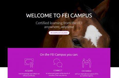 FEI startet kostenlose Online-Uni für Pferdefans und Reiter