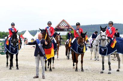 Future Champions: Ponys und Children siegen im Nationenpreis – Doppelerfolg für die deutschen Teams im Parcours