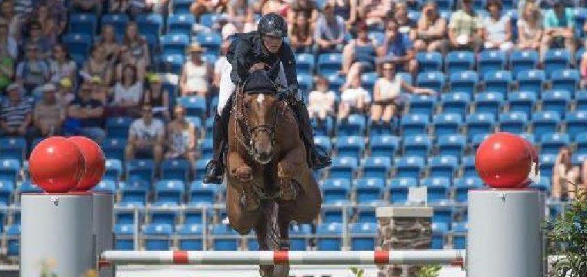 Farrington schnappt Ahlmann den Großen Preis von NRW weg, Simone Blum Dritte
