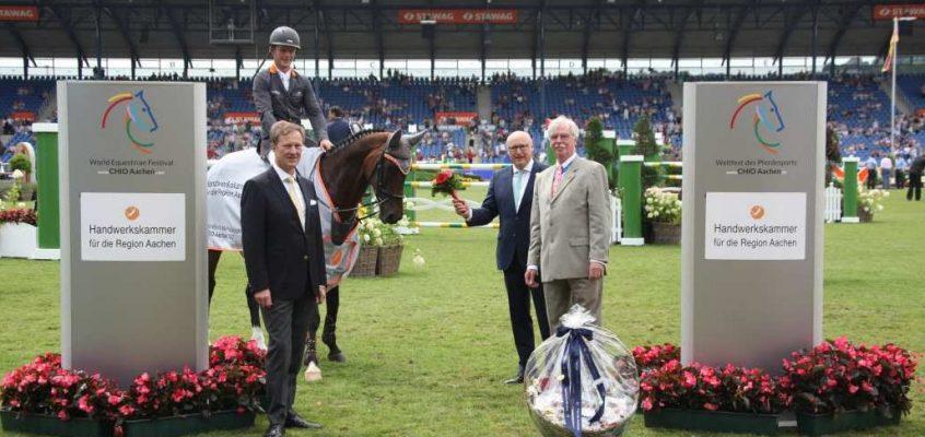 Philip Rüping gewinnt Preis des Handwerks beim CHIO in Aachen