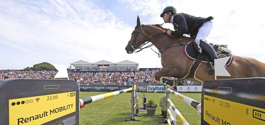 Scott Brash gewinnt Global Champions League in Chantilly – mit Hello Forever