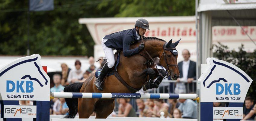 Umweg über Onischenko: Simon Delestre hat ein neues Pferd