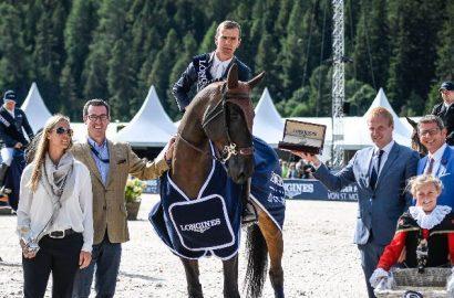 Siegesserie von Wilm Vermeir in St.Moritz – auch der Grand Prix ist seiner