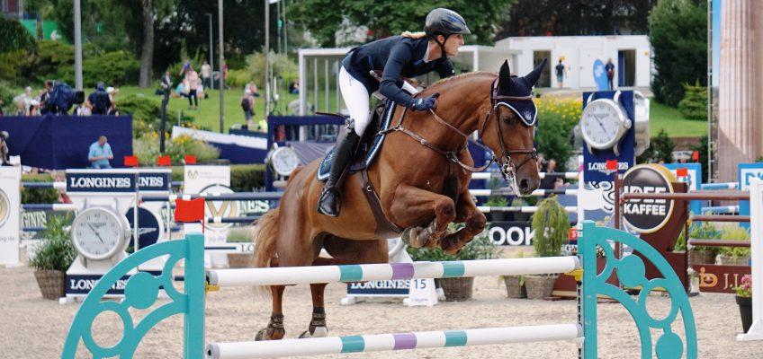 Haben das Siegen nicht verlernt: Simone Blum und Alice gewinnen in Oliva!