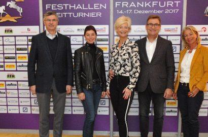 Countdown zum Internationalen Festhallen Reitturnier in Frankfurt läuft!