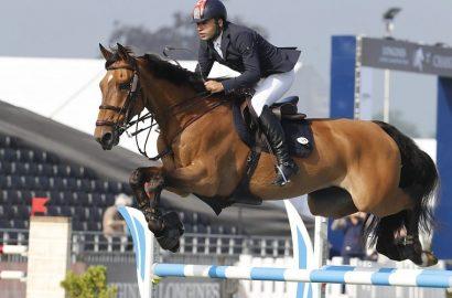 Daniel Deusser hat ein neues Pferd im Stall!