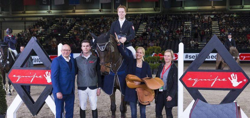 Junger Holsteiner gewinnt den Goldenen Sattel!