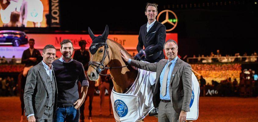 Kevin Staut gewinnt Art on Ice Championat, Philipp Weishaupt Dritter
