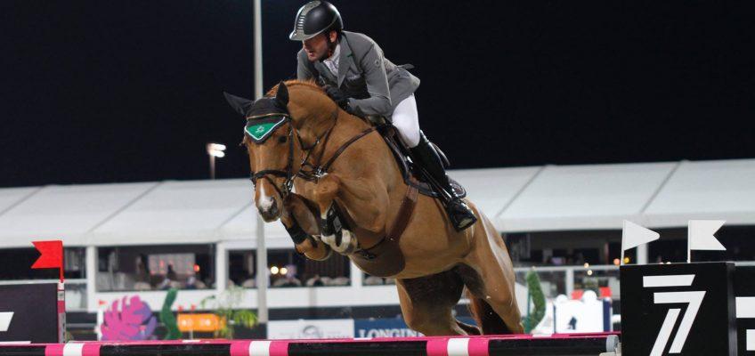 Philipp Weishaupt gewinnt Al Shira'aa Arabian Preis in Abu Dhabi
