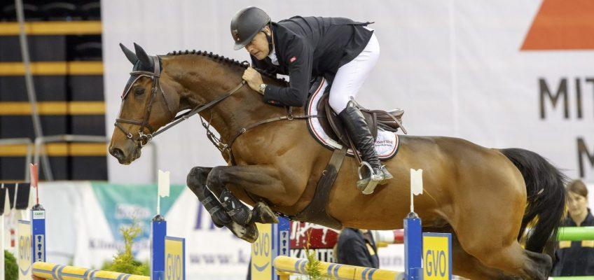 Robert Vos gewinnt auch Grand Prix in Herning vor Holger Hetzel