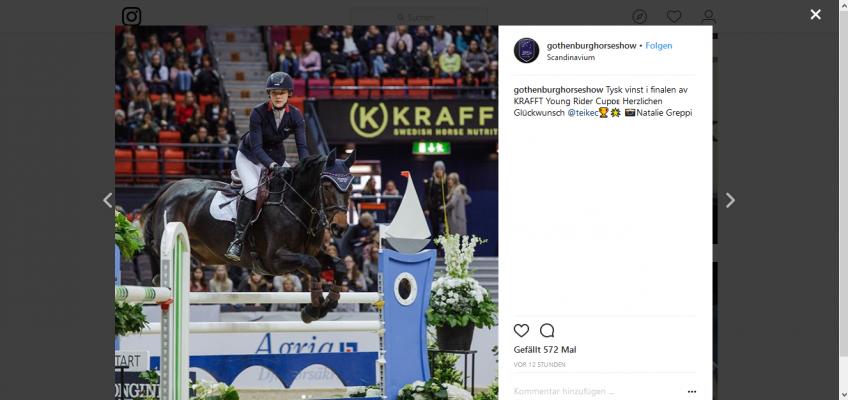 Göteborg: Teike Carstensen schnappt Max Haunhorst den Sieg weg!