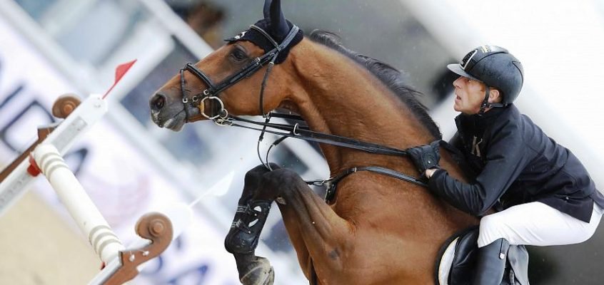 Marcus Ehning came eighth in Mexico, Wilhelm Genn wins the final show jumping