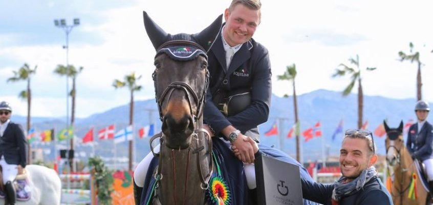 Maurice Tebbel gewinnt Weltranglisten-Springen in Oliva Nova