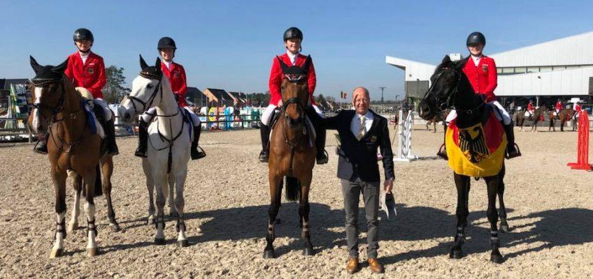 Deutsches Children Team gewinnt Silber im Nationenpreis in Belgien!