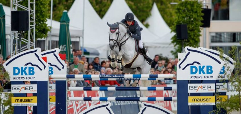 In top form: Denis Nielsen and DSP Cashmoaker win the first phase in the DKB-Riders Tour in Hagen!
