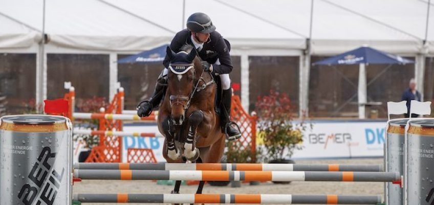 Francois Mathy siegt bei Horses & Dreams, Felix Haßmann Dritter