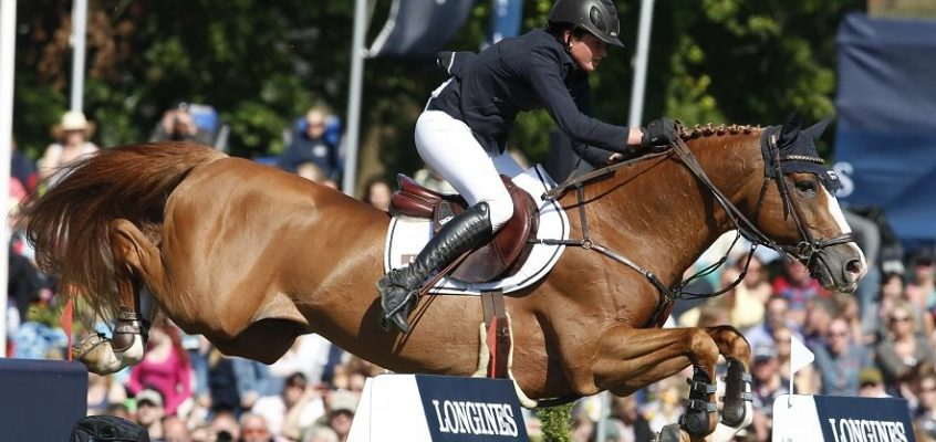 Firth of Lorne is back, now in the saddle with Marcus Ehning