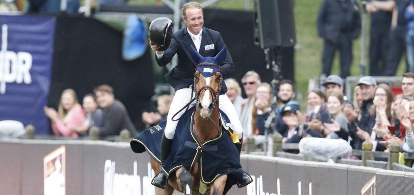 David Will springt zum Sieg im Global Champions Tour Springen in Hamburg!