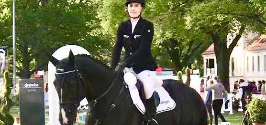 Janne-Friederike Meyer-Zimmermann wird Dritte beim Pferdefestival in Redefin!