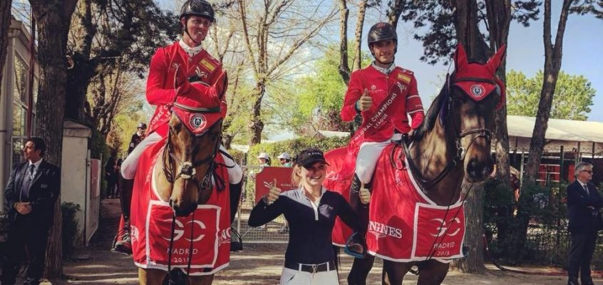London Knights und Ben Maher gewinnen Massimo Dutti Trophy in Madrid!