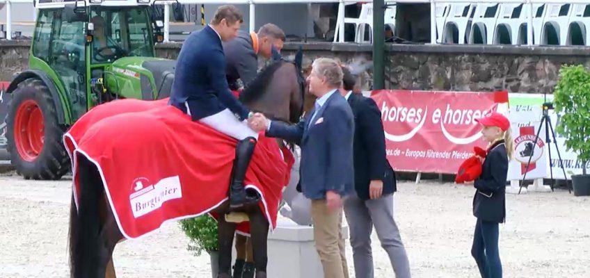 Johannes Ehning gewinnt Eröffnungsspringen in Nörten-Hardenberg