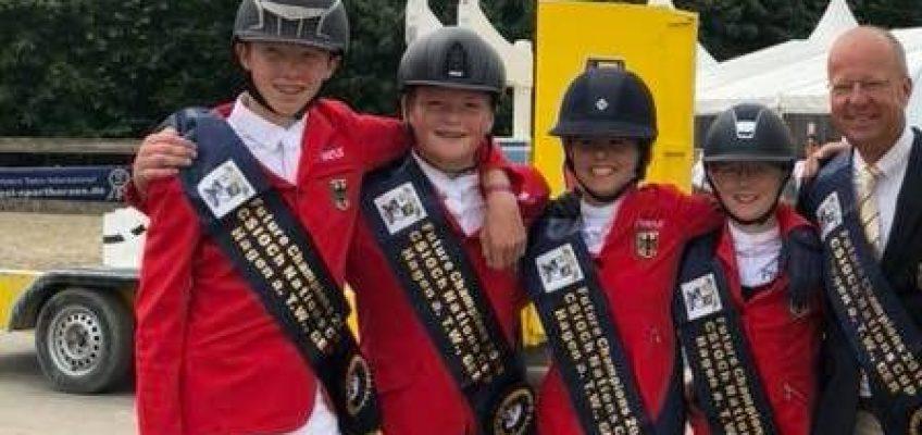 Future Champions: Deutsches Children Team siegt souverän im Nationenpreis!