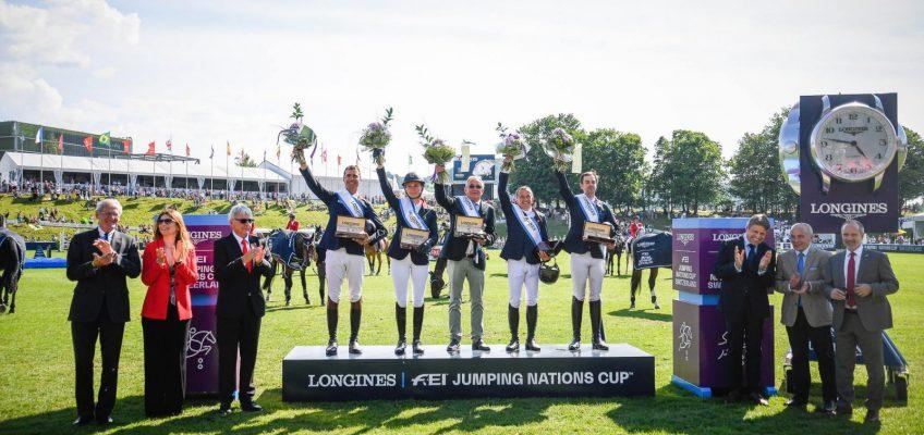 Deutsche Springreiter Vierte im Nationenpreis in St. Gallen – Frankreich gewinnt souverän