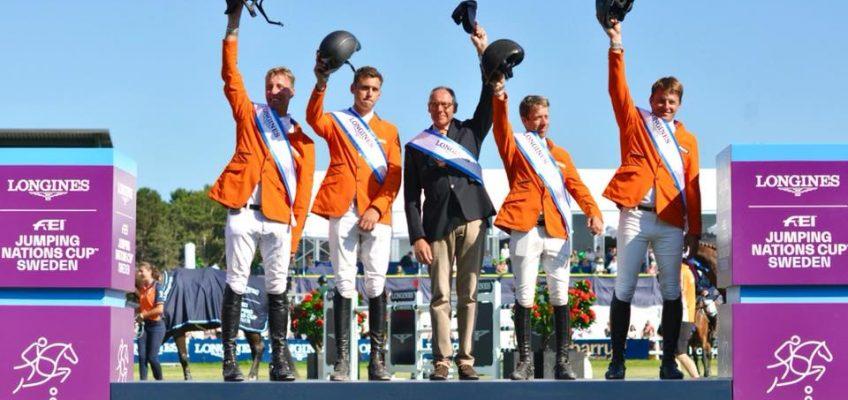 Niederländer holen Nationenpreis-Sieg und 100 Punkte in Falsterbo