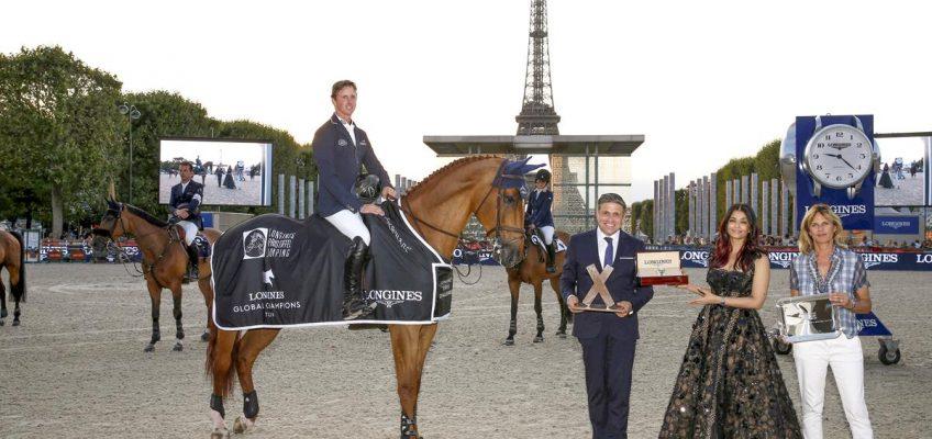 Paris-Hattrick für Ben Maher, Houston und Beerbaum platziert