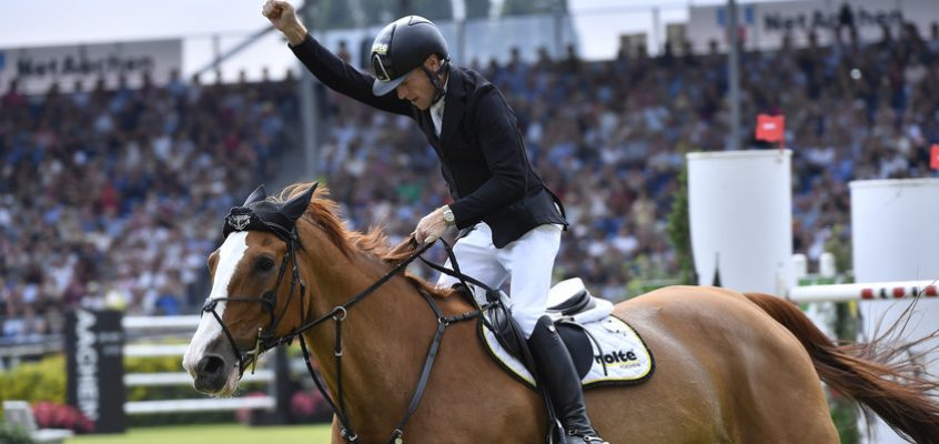 Interview with Marcus Ehning, the Rolex Grand Slam of Show Jumping live contender