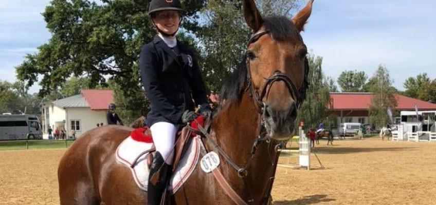 Charlotte Höing ist neue Deutsche Meisterin der Children!