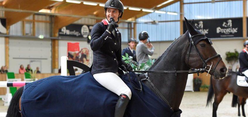 Kendra Claricia Brinkop wollte Großen Preis gewinnen – und machte das fast mit links