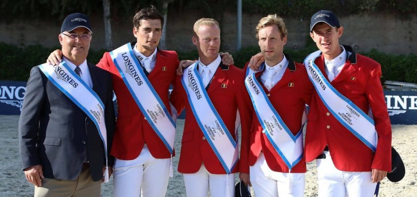 Belgier gewinnen Finale des Nations Cup in Barcelona