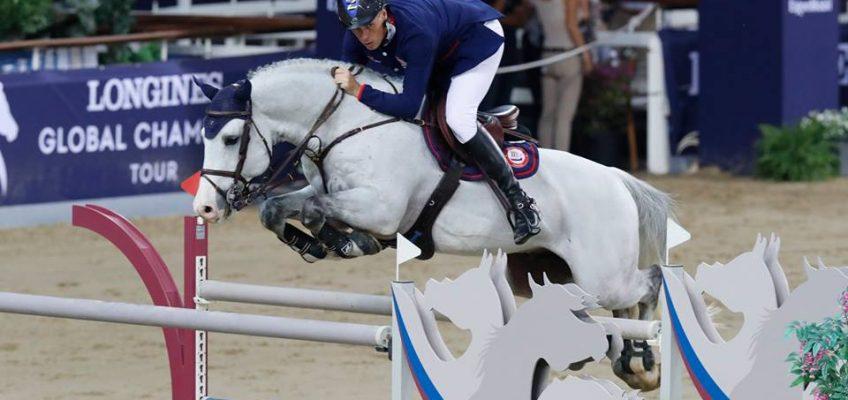 Christian Ahlmann galoppiert zum Sieg in Doha!
