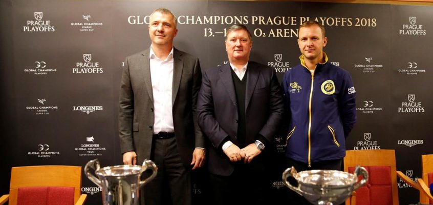 Stars of Show Jumping Arrive in Prague as GC Playoffs Officially Launched