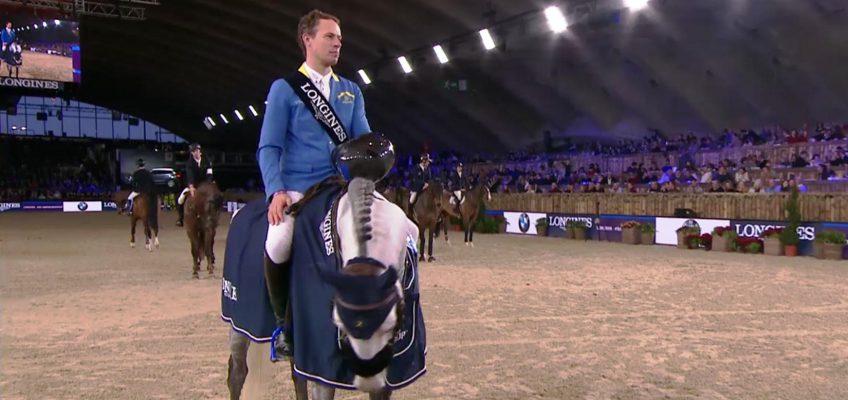 Christian Ahlmann gewinnt Weltcupspringen in Mechelen