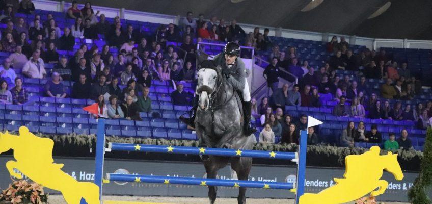Christian Kukuk Dritter im Stephex Stables Preis von Mechelen