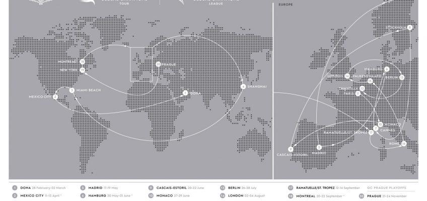 New York heißt das neue Top-Ziel in der Global Tour