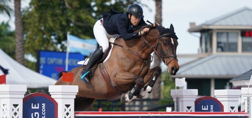Felix Hassmanns Ex-Pferd siegt in Palm Beach