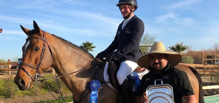 Andre Thieme und Mathis Schwentker im 1-Million-Dollar Grand Prix