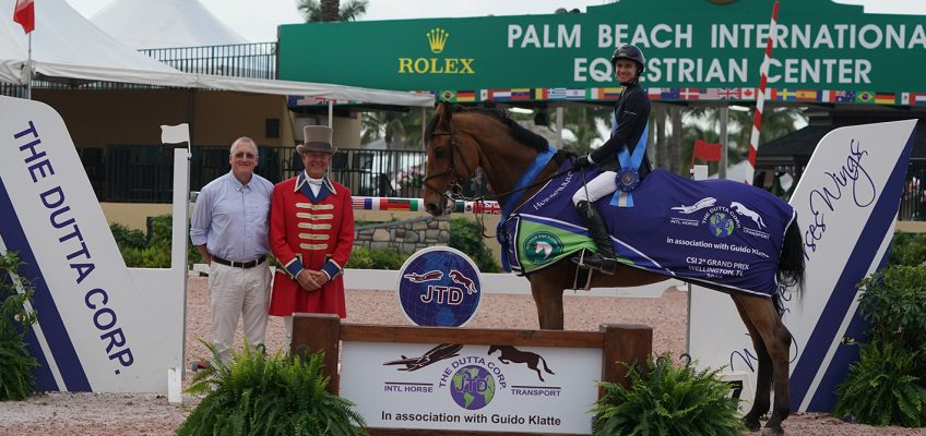 McLain Ward and Laura Chapot Take Five-Star and Two-Star Victories to Close Out WEF Week 7