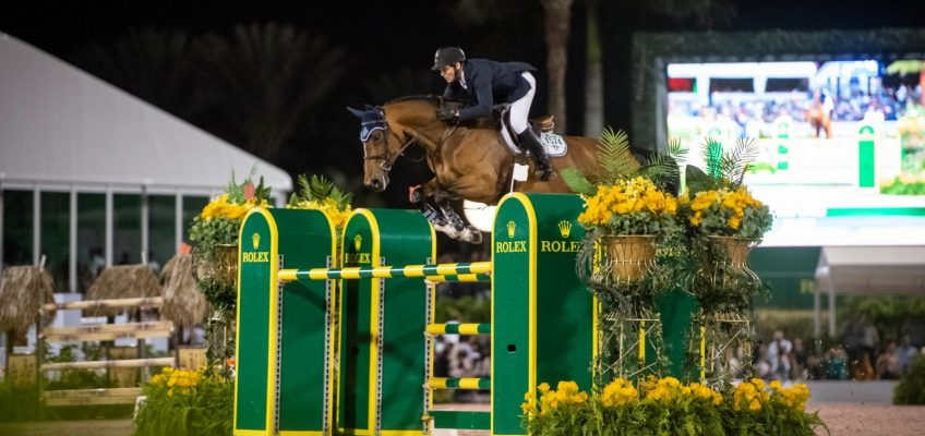 McLain Ward vor Kent Farrington im Rolex Grand Prix