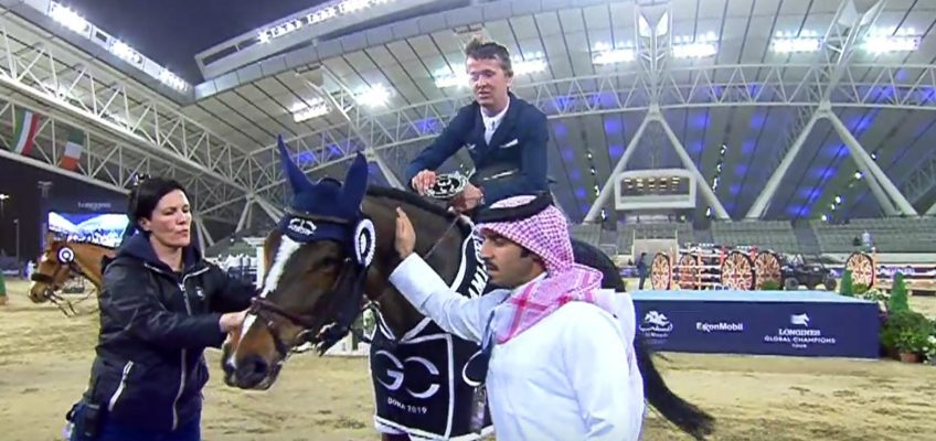 Auf der Überholspur: Bertram Allen sprintet zum Sieg in Doha!