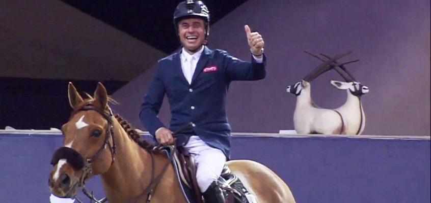 Epaillard's Joy After Victory in Opening LGCT Grand Prix of 2019