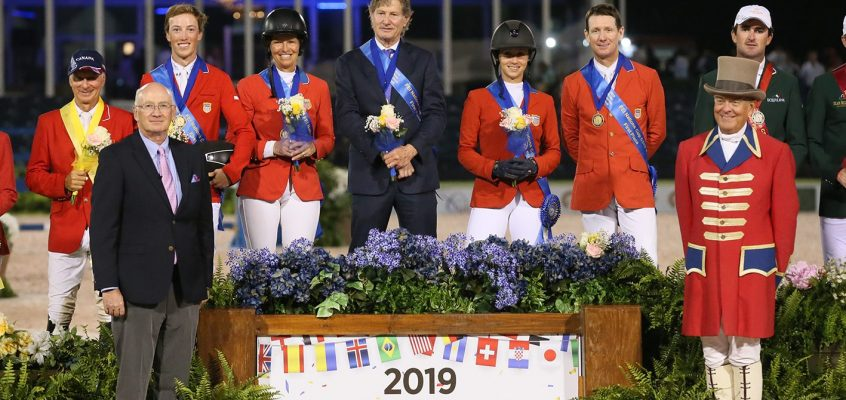 USA Wins $150,000 Nations Cup CSIO4* at 2019 Winter Equestrian Festival