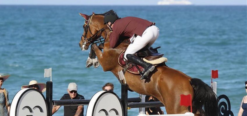 Daniel Deusser springt auf Platz drei im Hauptspringen in Miami!